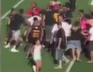 VIDEO: Parents, coaches spark massive brawl at L.A. youth football game