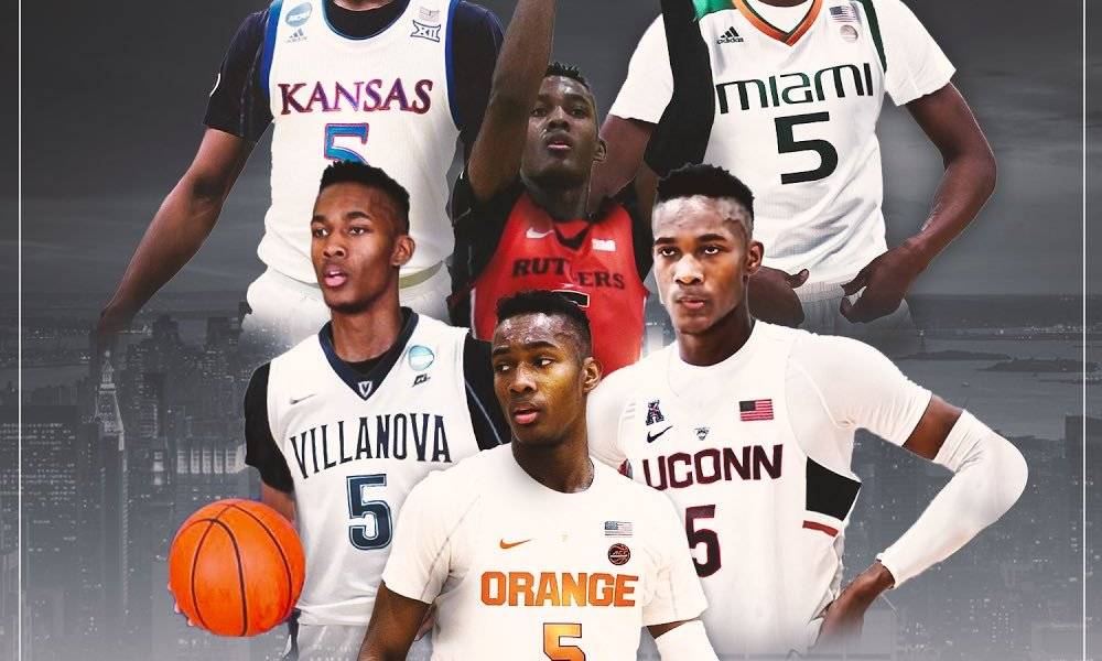 Jalen Carey's final six schools (Photo: Twitter screen shot)