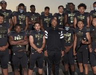 California power Long Beach Poly wore uniforms that were so close to monochrome you couldn't distinguish numbers