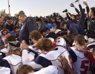 Calif. high school football team kneels in prayer after each game to acclaim, not controversy