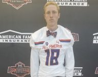 Tennessee-bound kicker Paxton Brooks receives Under Armour All-America jersey