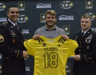 Four-star center and USC commit Justin Dedich receives Army All-American Bowl jersey