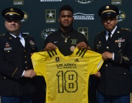 Narbonne (Calif.) star Raymond Scott receives Army All-American Bowl jersey