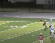 VIDEO: Crazy kickoff return with five laterals goes for miracle TD