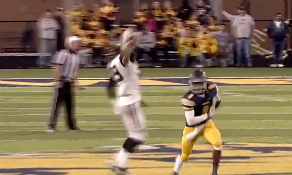 Perrysburg wide receiver Ian Riddle (Photo: Twitter screen shot)
