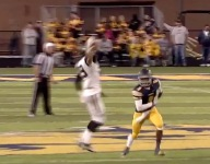 VIDEO: Perrysburg (Ohio) WR Ian Riddle pulls down unreal one-handed catch
