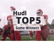 Hudl Top 5: The Best Game Winners of Week 3