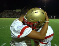 One week after his last cancer treatment, Ariz. RB scores a TD