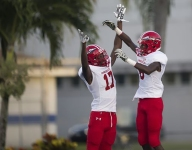 Fla. football game pushed up due to Irma ends with over 1,000 yards of offense, 88 points