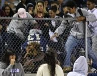 VIDEO: Calif. HS game canceled after brawl in stands