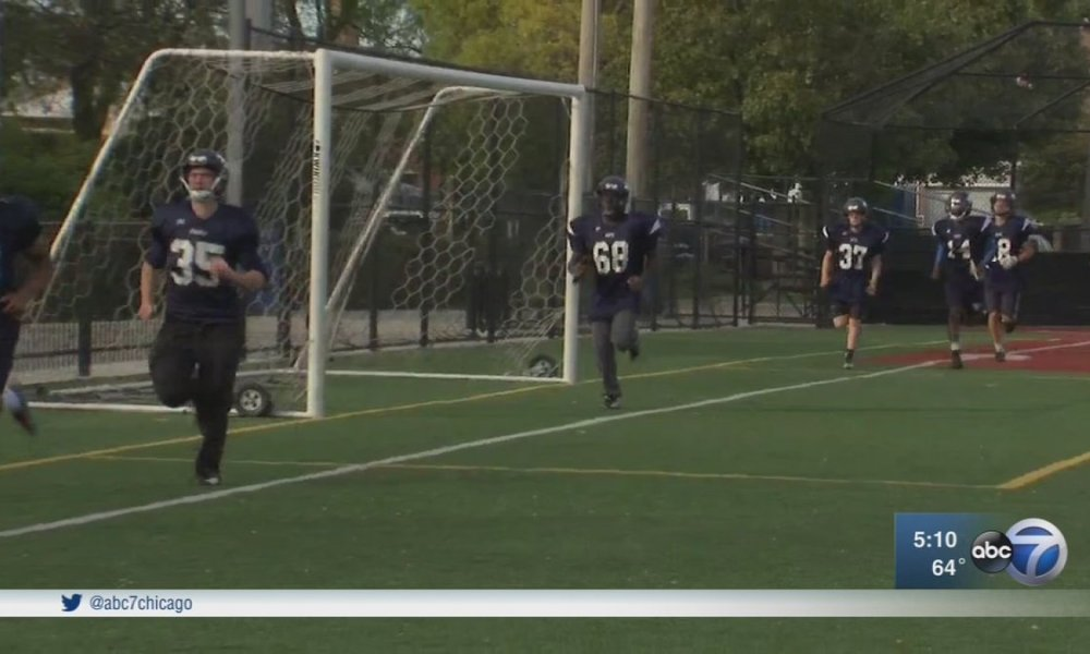 Chicago Hope Academy football (Photo: Twitter screen shot)