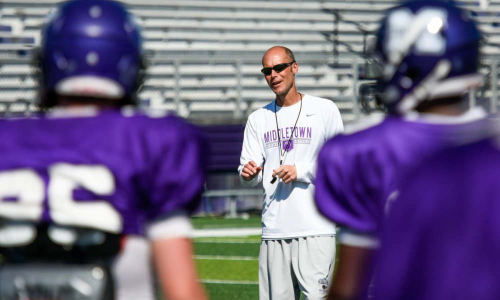 Middletown coach Lance Engleka resigned after allegedly receiving death threats (Photo: @rickcassano/Twitter)
