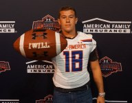 Top Texas kicker Seth Small celebrates Under Armour All-America selection