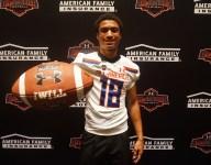 American Heritage wide receiver Anthony Schwartz gets Under Armour jersey, plans Auburn visit