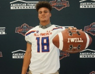 Four-star athlete Joey Gatewood celebrates Under Armour All-America Game selection