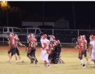 VIDEO: Okla. football player in wheelchair scores TD on senior night