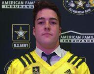 Oaks Christian (Calif.) OLB Bo Calvert receives U.S. Army All-American Bowl jersey