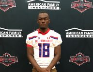 Texas A&M commit Jalen Preston receives Under Armour All-America jersey