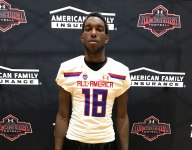 Texas commit Malcolm Epps receives Under Armour All-America Game jersey