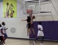 VIDEO: LaMelo Ball dunks on opponent in gym, friends 'bless' victim with bible