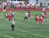 VIDEO: This no-look TD pass from Smithtown West (N.Y.) may be the play of the year