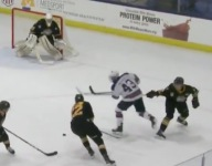 VIDEO: 16-year-old U.S. National Development Team hockey star Jack Hughes notched early goal of the year candidate
