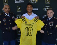 Four-star defensive tackle Tyler Manoa receives honorary Army All-American Bowl jersey