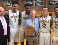 Greensboro Day (N.C.) boys' basketball coach Freddy Johnson notched 1,000th win