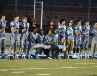 Mich. football players' kneeling leads to school-wide diversity effort