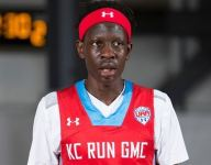 Top center Bol Bol transfers from Mater Dei to Findlay Prep