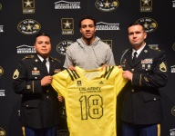 Texas commit Caden Sterns celebrates Army All-American Bowl selection