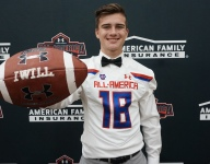 Mississippi State commit Evan McPherson celebrates Under Armour All-America Game selection