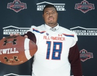 Maryland commit Austin Fontaine receives Under Armour All-American Game jersey