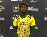 Four-star CB Isaac Taylor-Stuart on being Army All-American: 'It's a very prestigious honor'