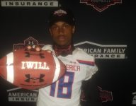 Michigan commit Myles Sims receives Under Armour All-America jersey