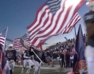VIDEO: Dallas-Forth Worth area football team runs onto field with each player carrying American flag