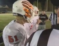 Fresno Christian football captains introduced themselves to California School for the Deaf using sign language