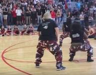VIDEO: Florida principal dances with step team, steals pep rally spotlight