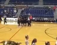 VIDEO: Texas junior girls basketball star drills buzzer-beater from just inside half court