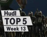 Hudl Top 5: America's best plays from Week 13
