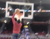 VIDEO: Watch Dwyane Wade's son Zaire throw down at Cavs' Quicken Loans Arena