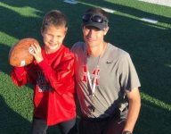 Seven-year-old cancer patient inspiring Maryville football
