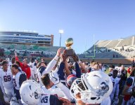 Magical TD sparks No. 3 Allen's Texas quarterfinal blowout of traditional power Euless Trinity