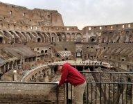 Arkansas football recruit Connor Noland signs Letter of Intent inside Rome's Colosseum