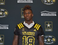 JJ Peterson accepts U.S. Army All-American Bowl jersey as he preps for Colquitt County title game