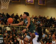 John Wall Holiday Invitational: Five-star guard Jalen Lecque '50/50' on reclassifying to 2018