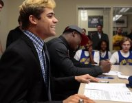 Openly gay St. Louis star running back Jake Bain signs with Indiana State