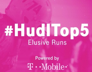 Hudl Top 5: The season's most elusive runs