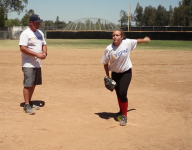 VIDEO: Proper footwork is just as important for softball pitchers as your arm
