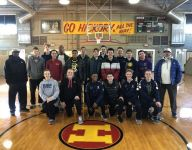 Alford family helps teach 'Hoosier Hysteria' class at Indiana high school